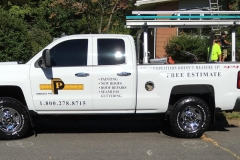 Parker Contracting Company Truck