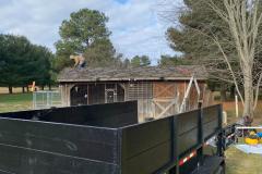 Metal Roof Before